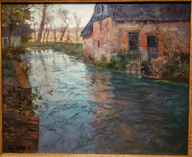 River in Normandy